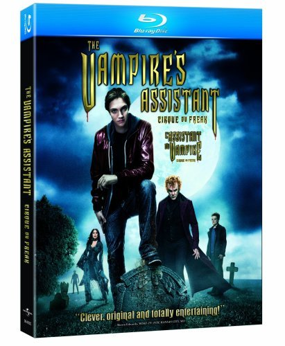 Cirque Du Freak Vampire's Assassin Massoglia Reilly Hayek Ws Blu Ray Pg13
