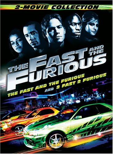 Fast & The Furious 2 Movie Col Fast & The Furious 2 Movie Col Pg13 2 DVD