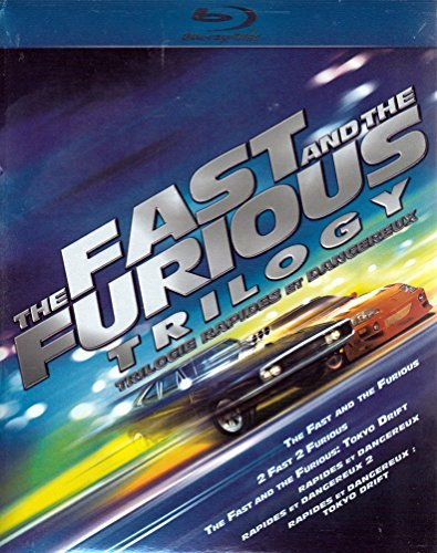 Fast & The Furious Trilogy Blu Ray Ws Pg13 6 Br