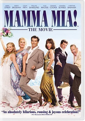 Mamma Mia The Movie Streep Brosnan Firth Seyfried DVD Pg13 Fs