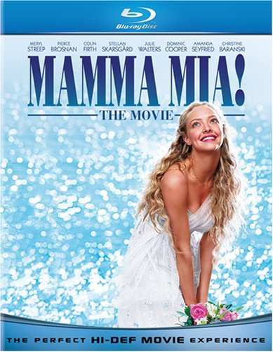 Mamma Mia The Movie Streep Brosnan Firth Seyfried Blu Ray Ws Pg13