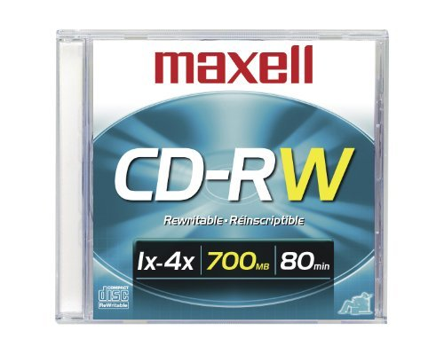 CD Rw 700 80 Min 1x 4x Single Rewriteable Data Single