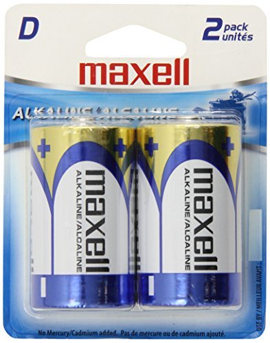 Batteries D Cell 2pk 12