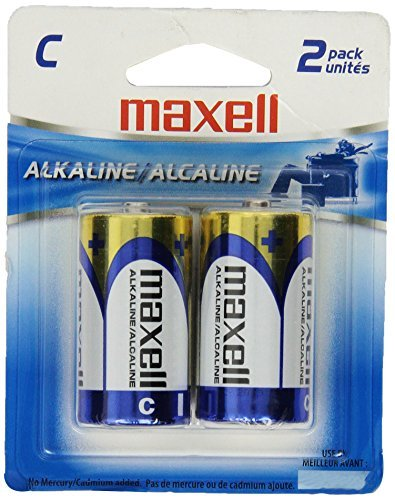 Batteries C Cell 2pk 12