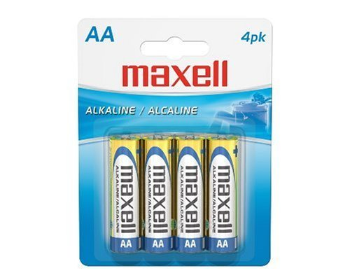 Batteries Aa Alkaline 4pk
