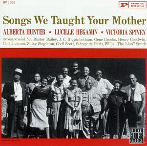 Hunter Hegamin Spivey Songs We Taught Your Mother CD R
