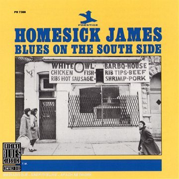 Homesick James Blues On The South Side CD R
