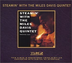 Miles Quintet Davis Steamin' With The Miles Davis 20 Bit Mastering