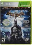 Xbox 360 Batman Arkham Asylum Game Of The Year Edition T