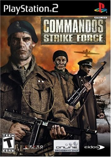 Ps2 Commandos Strike Force