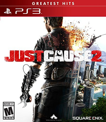 Ps3 Just Cause 2 Square Enix Llc M