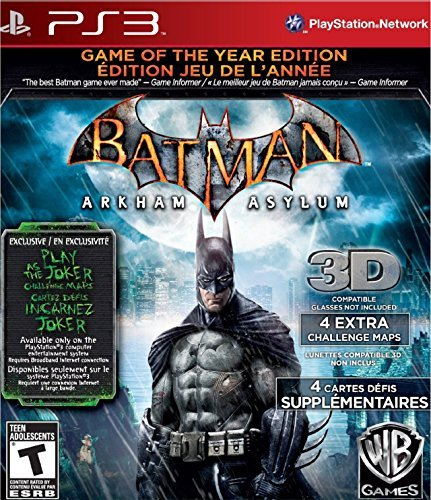 Ps3 Batman Arkham Asylum Game Of Whv Games T