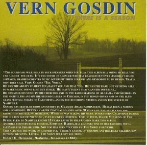 Vern Gosdin There Is A Season