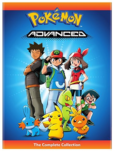 Pokemon Advanced Complete Collection DVD