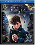 Fantastic Beasts & Where To Find Them Redmayne Waterson Sudol 3d Blu Ray Dc Pg13