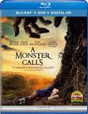 Monster Calls Weaver Jones Macdougall Neeson Blu Ray DVD Dc Pg13