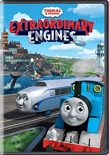 Thomas & Friends Extraordinary Engines DVD