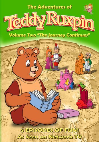Teddy Ruxpin Vol. 2 Journey Continues Clr Nr
