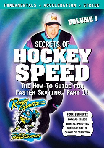 Vol. 1 Secrets Of Hockey Speed Glantz Robby Nr