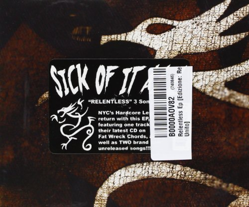 Sick Of It All 3 Song Single