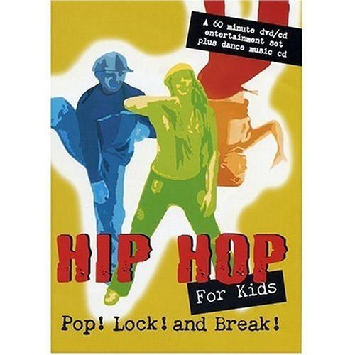 Hip Hop For Kids Pop Lock & Break Clr Nr Incl. CD