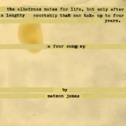 Matson Jones Albatross Mates For Life But O