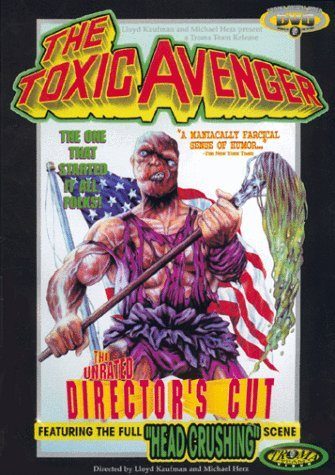 Toxic Avenger Maranda Cohen Ryan Jr. Clr Keeper R Director's Cut Ltd. Edition