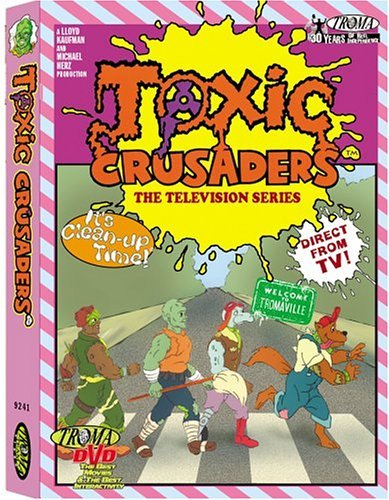 Toxic Crusaders Volume 1 DVD Nr
