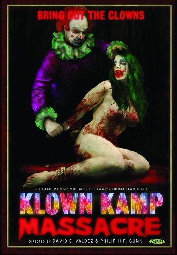 Klown Kamp Massacre Herholtz Kelly Bryce Ws Nr