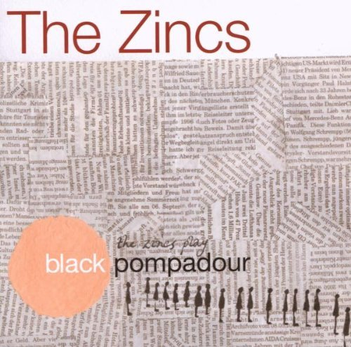 Zincs Black Pompadour