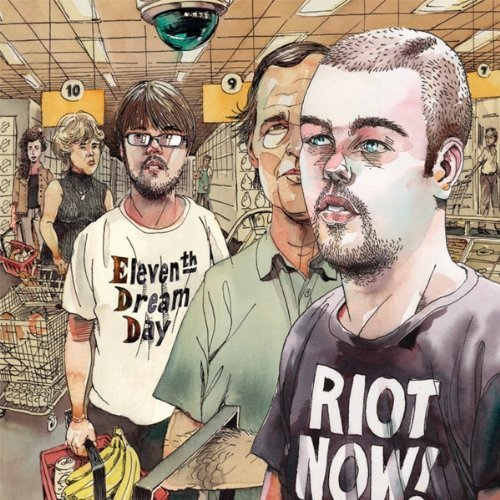 Eleventh Dream Day Riot Now! Mini Lp Jacket