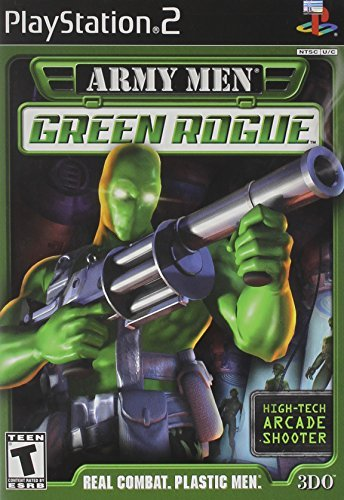 Ps2 Army Men Green Rogue T