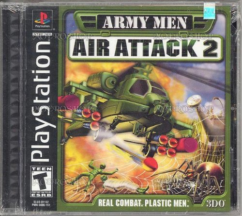 Psx Army Men Air Attack 2 T