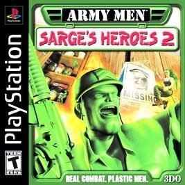 Psx Army Men Sarge's Heroes 2 T