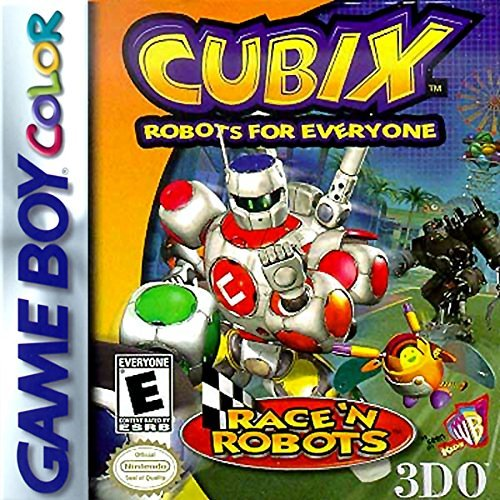 Gameboy Color Cubix Robots For Everyone Race N Robots Rp