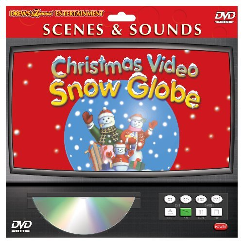 Drew's Famous Christmas Video Snow Globe Clr Nr