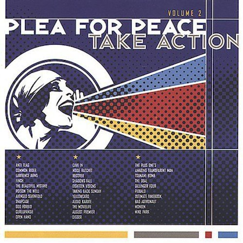 Take Action Vol. 2 Plea For Peace 2 CD Set Take Action