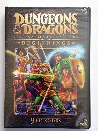 Dungeons & Dragons The Animated Series Beginnings Dungeons & Dragons The Animated Series Beginnings