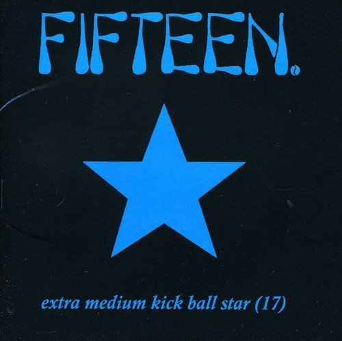 Fifteen Extra Medium Kickball Star 17 Incl. Bonus CD
