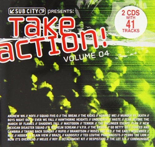 Take Action Vol. 4 Take Action Nofx Rufio Against Me 2 CD