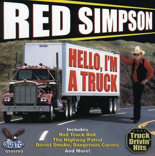 Red Simpson Hello I'm A Truck