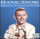 Hank Snow Hall Of Fame 1979