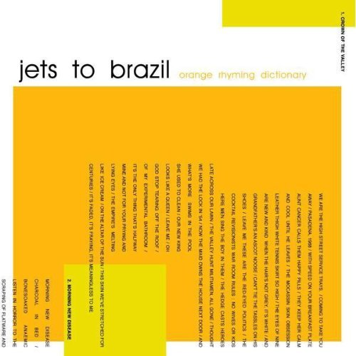 Jets To Brazil Orange Rhyming Dictionary