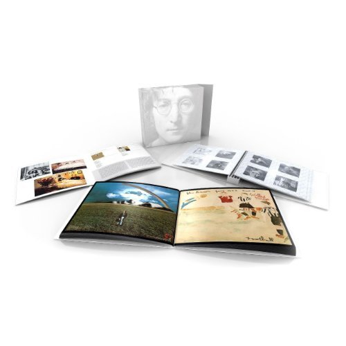 John Lennon Box Of Vision Lmtd Ed. 3 Books 1 Blank DVD 3 Blank CD