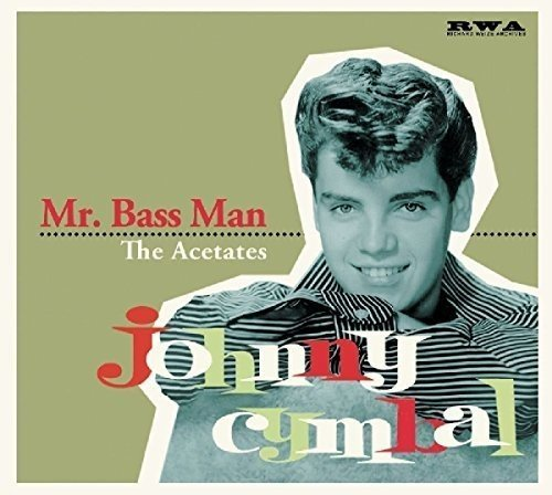 Johnny Cymbal Mr Bass Man Acetat Import Deu Digipack With 12 Page Booklet