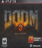 Ps3 Doom 3 Bfg Edition With Poster