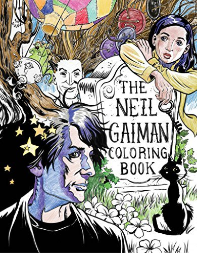Neil Gaiman The Neil Gaiman Coloring Book
