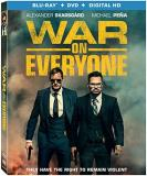 War On Everyone Skarsgard Pena James Blu Ray DVD R