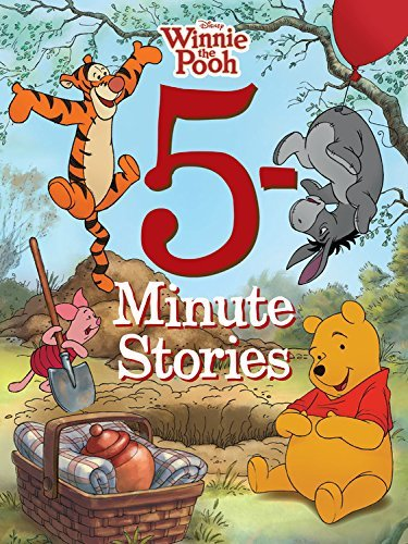 Disney Book Group 5 Minute Winnie The Pooh Stories