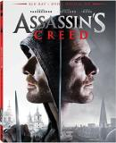 Assassin's Creed Fassbender Cotillard Irons Blu Ray DVD Dc Pg13